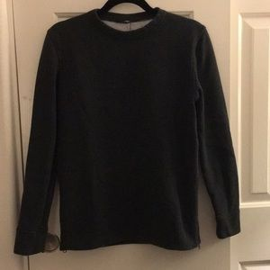 Lululemon Fleece Pullover Sweater /w Side Zippers